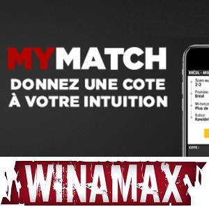 MyMatch : régalez-vous chez Winamax !